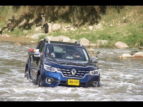 Renault Alaskan: prueba de ruta extrema por Santander