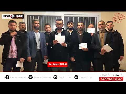 Alparslan Kuytul Hocaefendi'nin Avukatından Kamuoyuna Duyuru