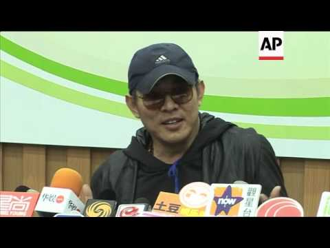 NEW Kung Fu star Jet Li attends charity event in Hong Kong