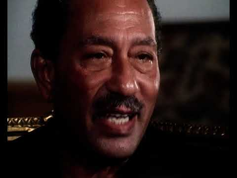 Anwar Sadat Interview | President Of Egypt | Peace Process | Arab Israeli Conflict | This Week |1977