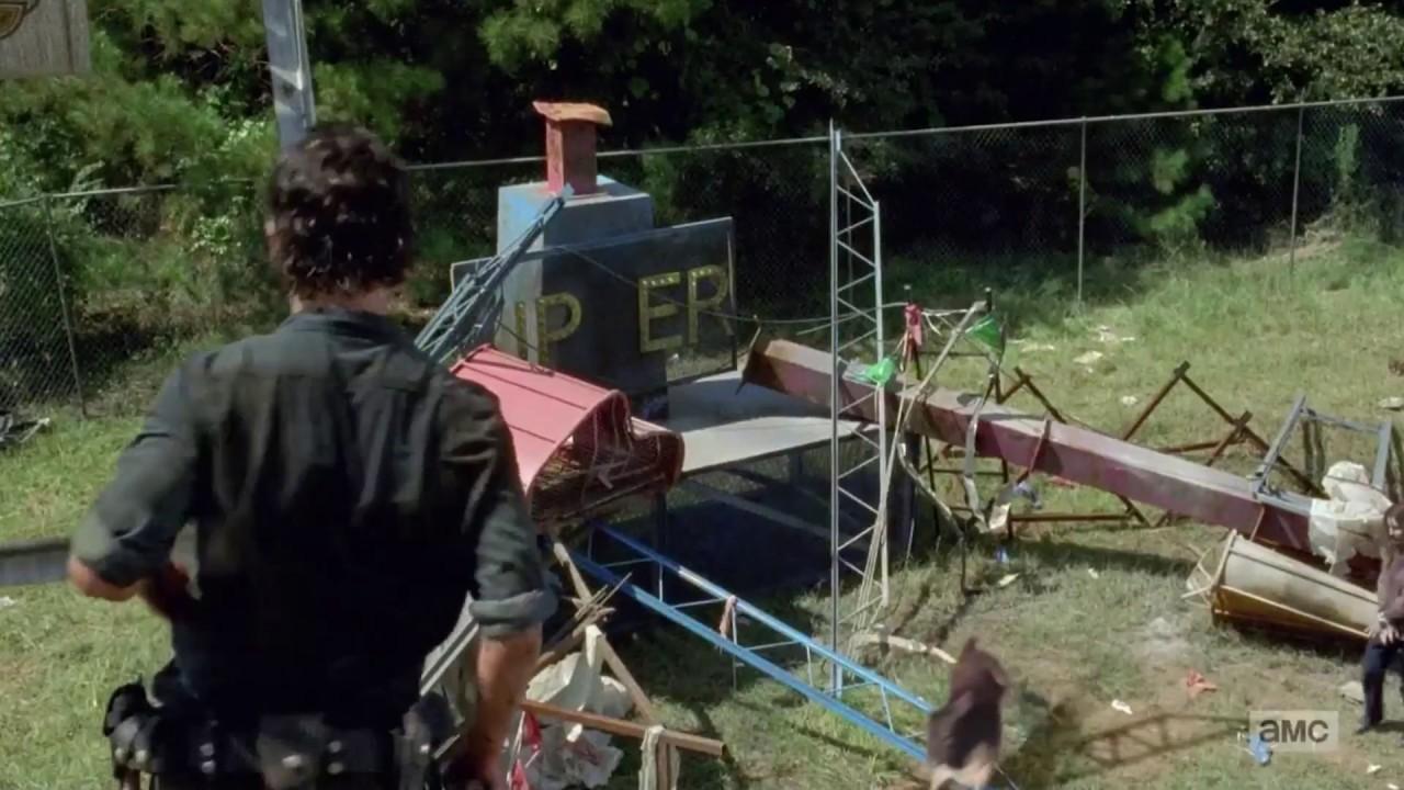 The Walking Dead - CGI Deer - YouTube