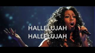 Hallelujah - Alexandra Burke version - Karaoke male version lower (-4)