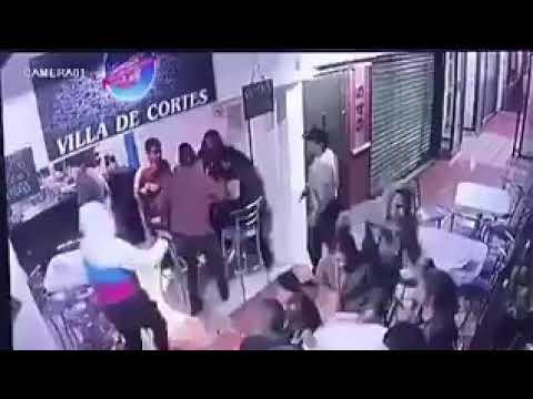 VIDEO: ASÍ ASALTARON LA CAFETERÍA VILLA DE CORTÉS