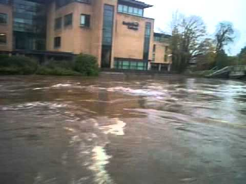 River Strule Omagh flood
