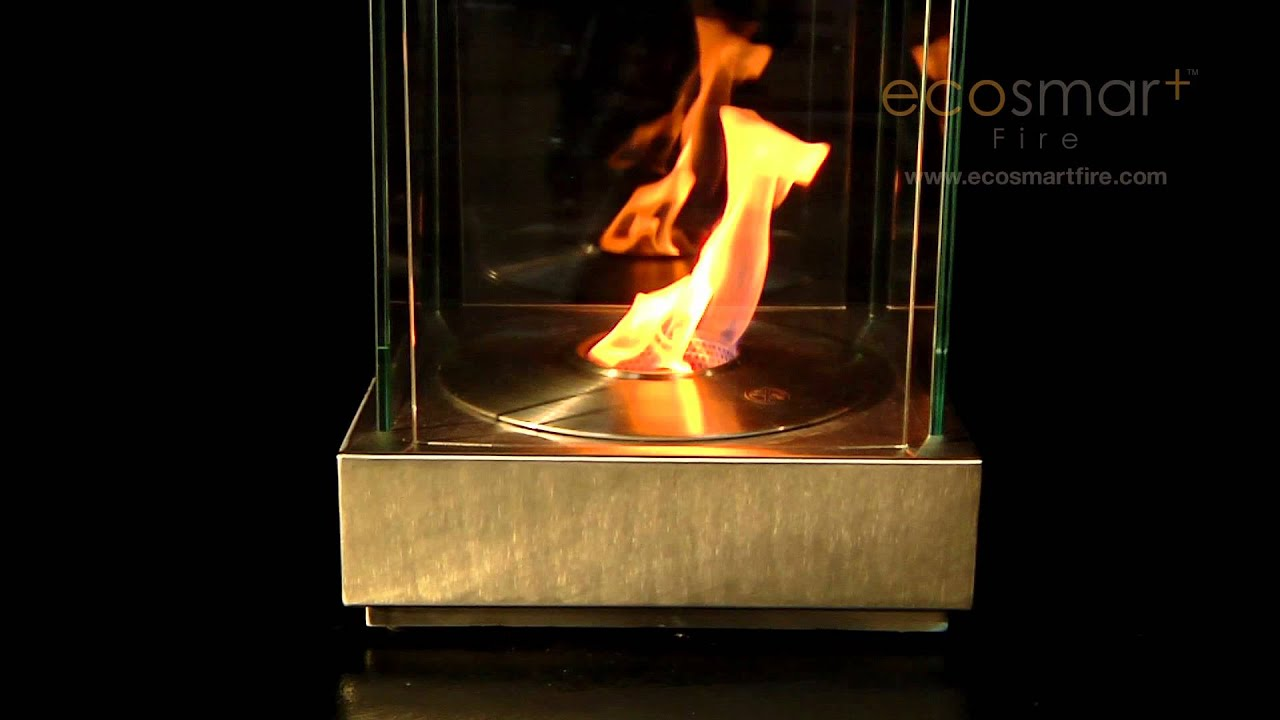 ecosmart fire mini t ethanol fireplace youtube. Black Bedroom Furniture Sets. Home Design Ideas