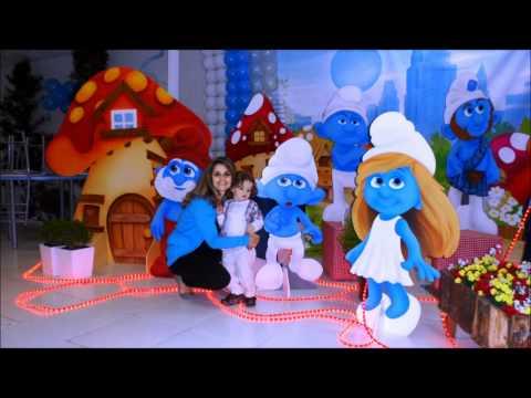Os Smurfs - João Vitor (2 Anos)