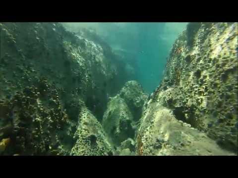 Underwater video Ierissos Halkidiki Greece- GoPro Hero3