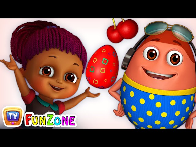 Learn RED Colour with Johny Johny Yes Papa | Surprise Eggs Colours Ball Pit Show | ChuChuTV 3D Fun