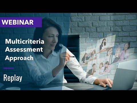 WEBINAR : Multi-criteria assessment : the new approach in recruitment