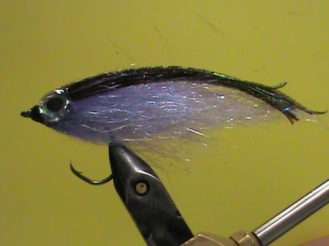 Fly Tying Gliss N Glint Purple Haze with Jim Misiura