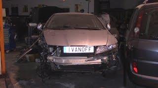 ЧАСТЬ ПЕРВАЯ Ремонт автомобиля Honda Civic 2010 ремонт жести и замена механики