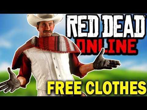 New FREE Clothing & Upgraded Saddle Bags In Red Dead Online Update