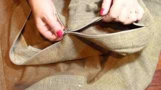 REPARAR UNA CREMALLERA EN UN MINUTO / Zipper repair in one minute