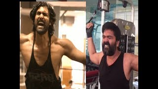 STR vs Rana : STR Angry Moments on GYM Workout | Simbu new Look