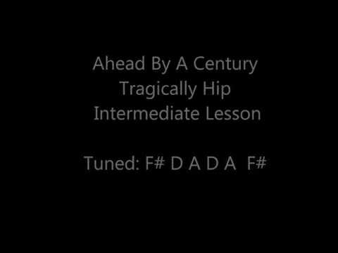 Ahead By a Century Intermediate Guitar Lesson.