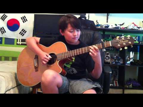 (Yiruma) River Flows in You - Fingerstyle Guitar - Andrew Foy - Sungha Jung Cover