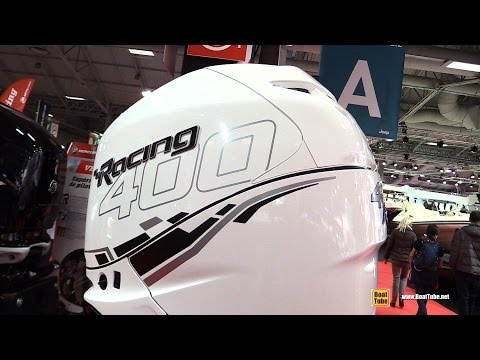 2016 Mercury Verado 400R L 400hp Outboard Marine Engine - Walkaround - 2015 Salon Nautique de Paris
