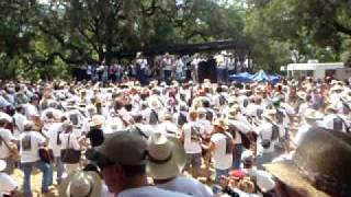 Luckenbach, TX Breaking the Guinness Book World Record for largest guitar ensemble