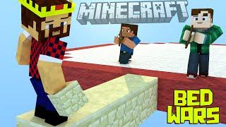 ПОД ПРИКРЫТИЕМ ЛУЧНИКОВ Minecraft Bed Wars Mini Game