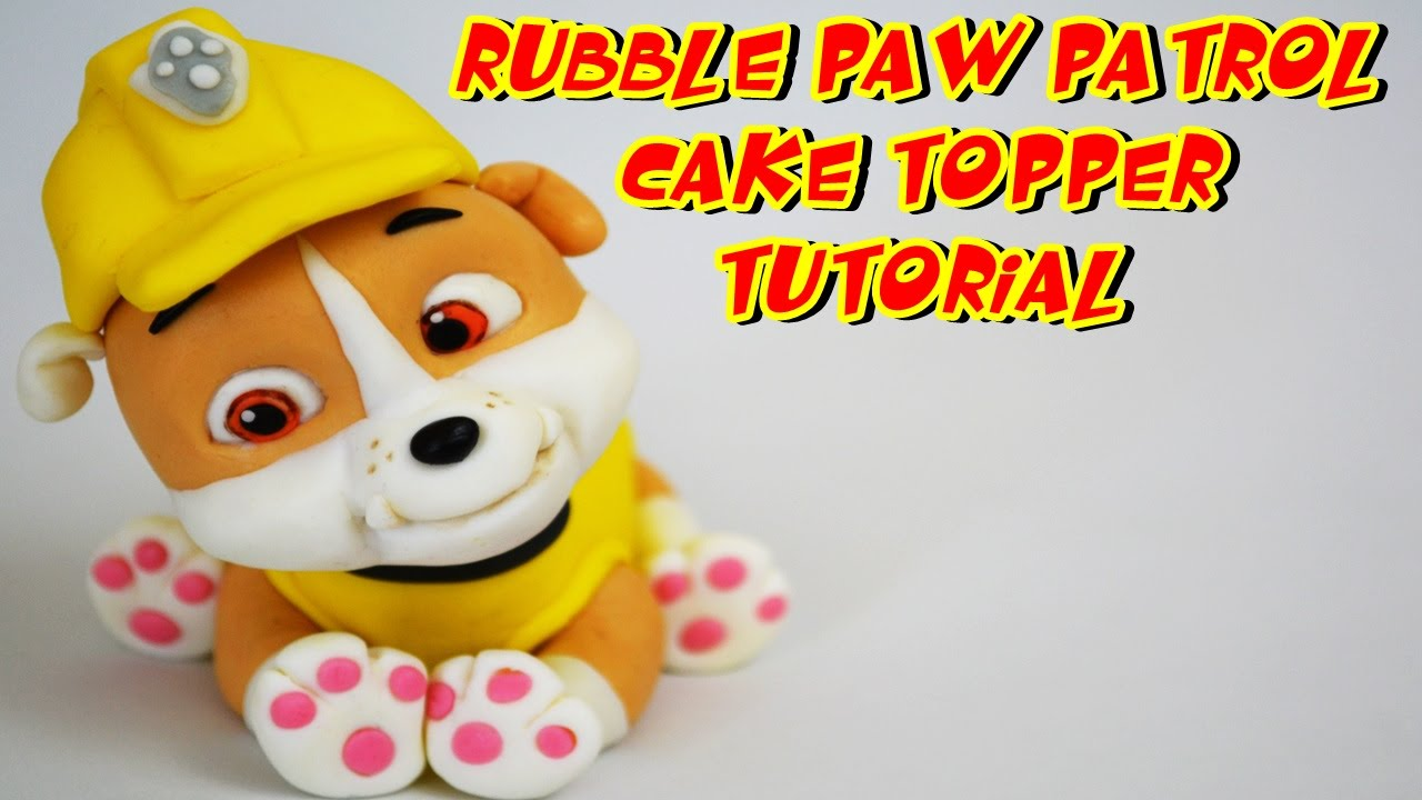 Fondant Dog Cake Toppers