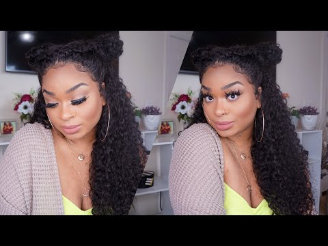 Klaiyi Hair  Brazilian Curly  GRWM Hair Edition