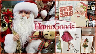 HOMEGOODS  SHOP WITH ME VINTAGE CHRISTMAS DECOR IDEAS 2018