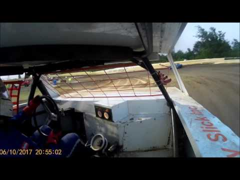 Creek County Speedway - Factory Stock A Feature - June 10th, 2017