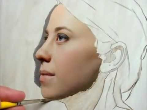 How To Paint Portraits In Oil Demonstration