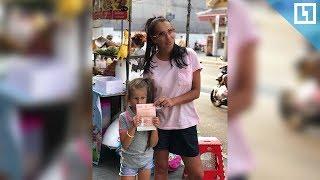 Грачевская с дочерью возвращаются из Таиланда