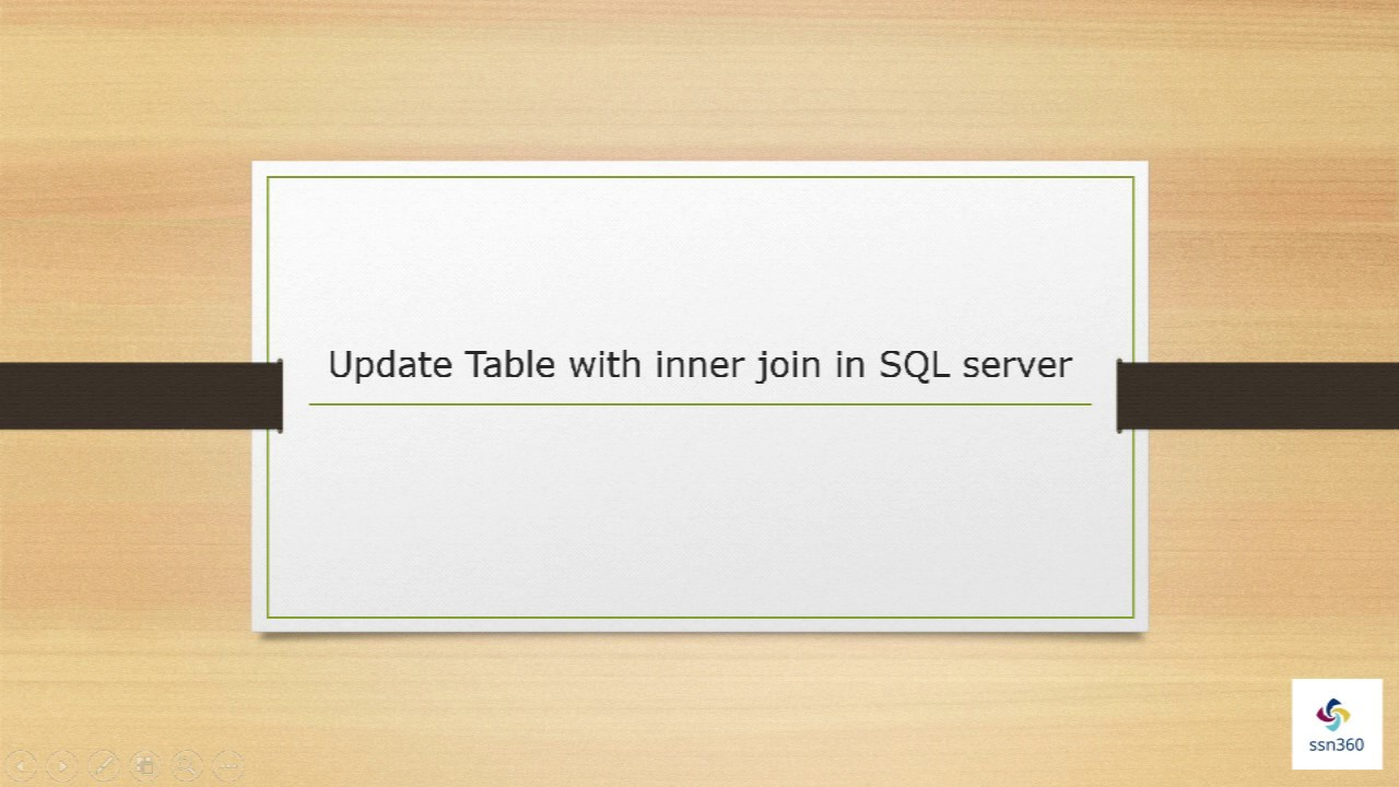 Update table with inner join in sql server part 30 youtube update table with inner join in sql server part 30 gamestrikefo Image collections