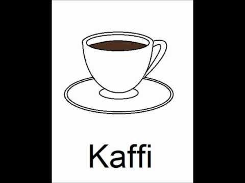 Icelandic Lesson #11: Drinks - Pronunciation