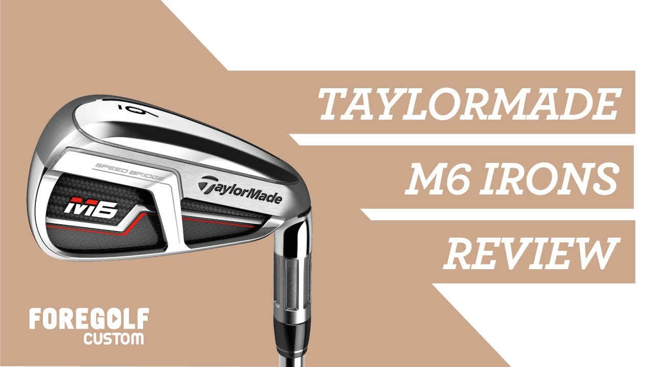 TaylorMade M6 Irons Review #M6Irons #TaylorMade