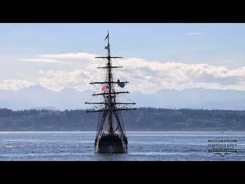 Hawaiian Chieftain and Lady Washington - Tall Ships