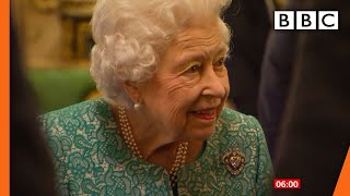 The Queen back at Windsor after hospital stay @BBC News live 🔴 BBC