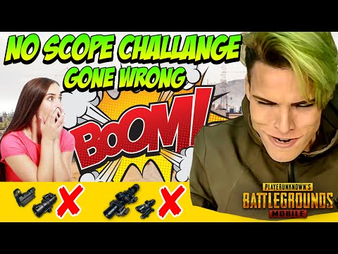 No Scope Challenge - Gone Wrong 😱 - PUBG Mobile Funny Moments | Winstoner Playz #3