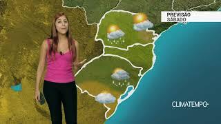 Previsão Sul - Condições de chuva aumentam