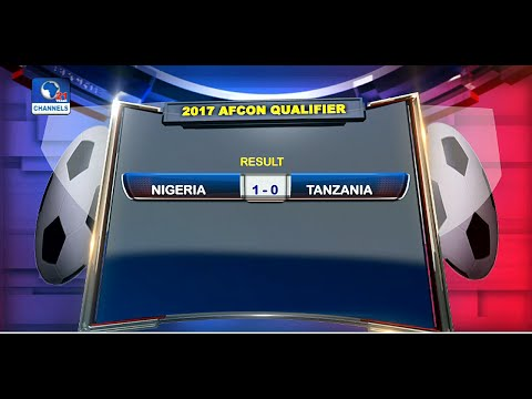 News@10: Nigeria Beat Tanzania 1- 0 In 2017 AFCON Qualifier 03/09/16 Pt 4