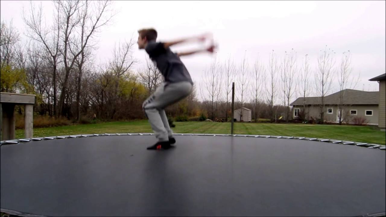 How to Backflip on a Trampoline