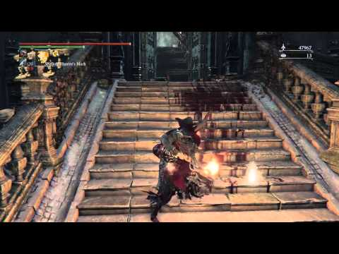 Bloodborne The Old Hunters DLC NG+8 Laurence Attempts Please Don't Die Valtr