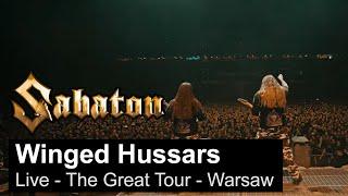 SABATON - Winged Hussars (Live - The Great Tour - Warsaw)