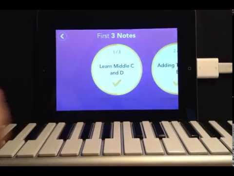 "How to use ""Simply Piano"" by Joytunes app!"