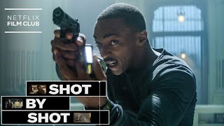 Anthony Mackie and Damson Idris on Killing Robots in Outside the Wire
