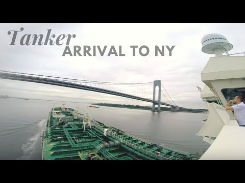 Tanker Ship Arrival to New York | Time Lapse HD