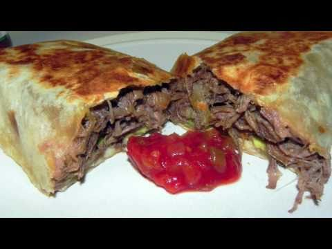 Beef Bean and Cheese Burrito Recipe