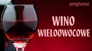 Przepis na wino wieloowocowe. Butla 5 litrowa: - 2 kg owoców (porze...