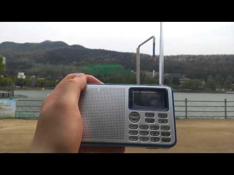 Shortwave radio reception at Suseong lake, Daegu, Korea - CNR 1, 17550khz (23rd April 2015)