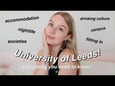UNIVERSITY OF LEEDS Q&A | everything you need to know!