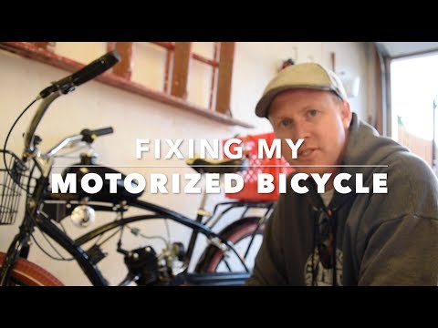 Fixing My Motorized Bicycle plus Test Ride thumbnail