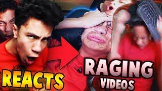 REACTING TO MY RAGING JAILBREAK VIDEOS?! (Roblox Jailbreak)