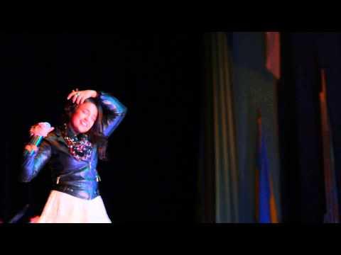 Monali thakur sings aga bai at Kallol NJDP 2014 #monali